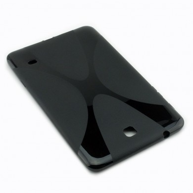 CZARNE silikonowe etui do tabletu Samsung Galaxy Tab 4 8.0 (T330 / T335)