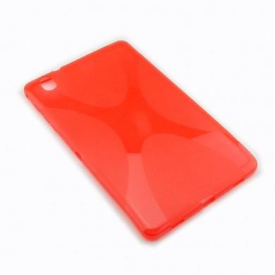 Dedykowane, silikonowe etui (plecki) do tabletu Samsung Galaxy Tab Pro (T320) 8.4 – czarne, dopasowane