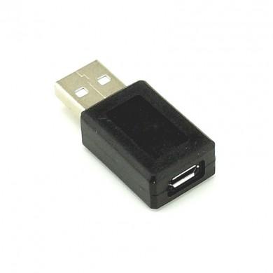 Przejściówka – adapter: wtyk USB - gniazdo micro USB