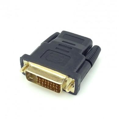 Adapter: żeński HDMI - męski DVI do tabletu