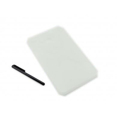 CZARNY silikonowy pokrowiec na tablet Samsung Galaxy Tab A 7.0 (T280 / T285)