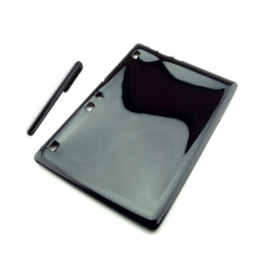 CZARNE elastyczne etui do tabletu Lenovo Tab 2 A10-70 L,F -gumowe