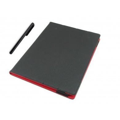 CZARNE etui książkowe na tablet Lenovo Yoga A12 (12,2 cala)