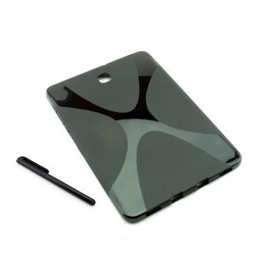 CZARNE silikonowe etui do tabletu Samsung Galaxy Tab S2 8.0 (T710, T715)