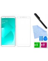 Zaokrąglone szkło hartowane 3D do telefonu Oppo A1, w dobrej cenie, tempered glass