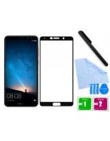 Zaokrąglone szkło hartowane 3D do telefonu Huawei Mate 10 (ALP-L09)- na cały ekran, 9H, tempered glass, curved