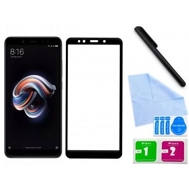 Zaokrąglone szkło hartowane 3D do telefonu Xiaomi Redmi Note 5- dobra cena, 9h, tempered glass