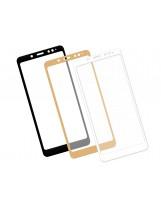 Zaokrąglone szkło hartowane 3D do telefonu Xiaomi Redmi Note 5 Pro- dobra cena, 9h, tempered glass