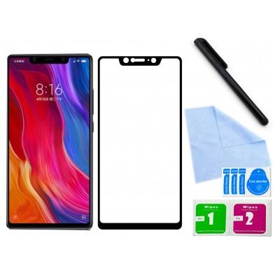 Zaokrąglone szkło hartowane 3D do telefonu Xiaomi Mi 7,8 SE