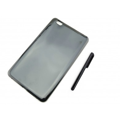 CZARNE etui silikonowe  Huawei MediaPad Honor WaterPlay HDL-W09 8 cali