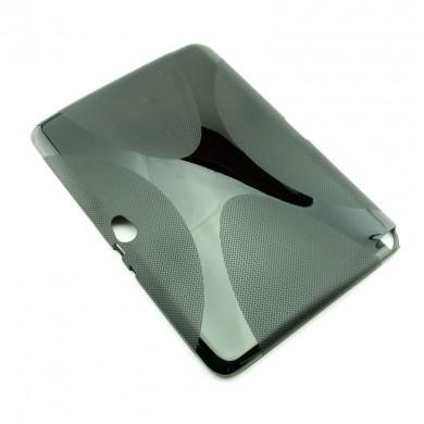 CZARNE silikonowe etui do tabletu Samsung Galaxy Note 10.1 (N8000)