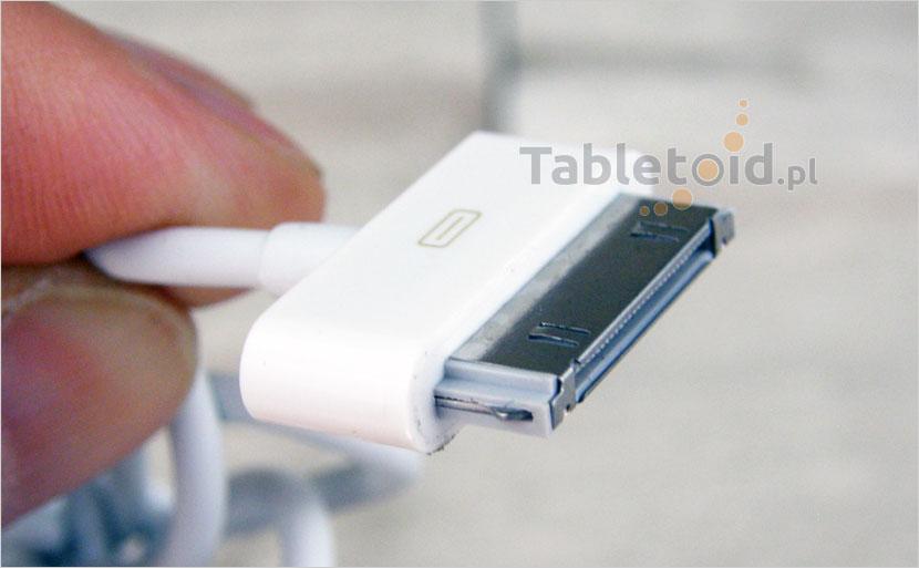 przejsciowka na kablu – adapter: wtyk USB do iPad 1, 2, 3