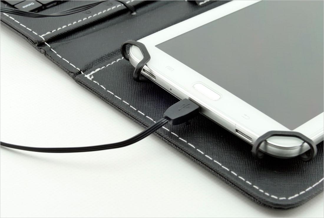 Końcówka micro-USB i adapter