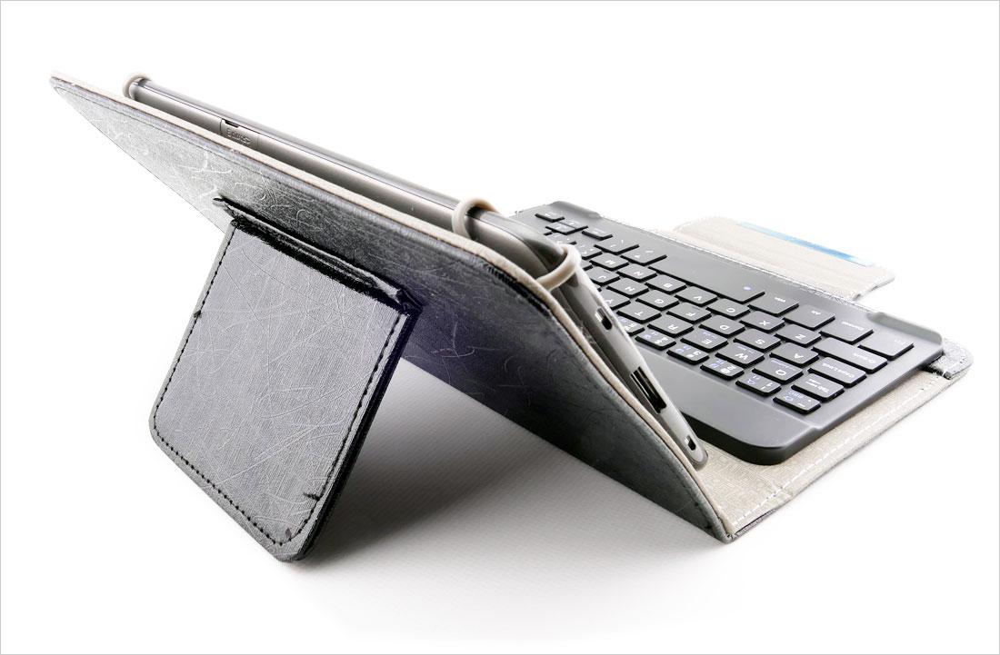 podstawka etui z klawiaturą bluetooth do tabletów 7.85-8 cali