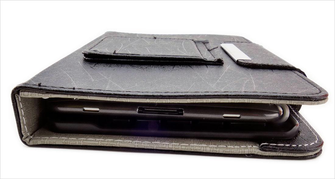 solidny pokrowiec na tablet z klawiaturą na magnes