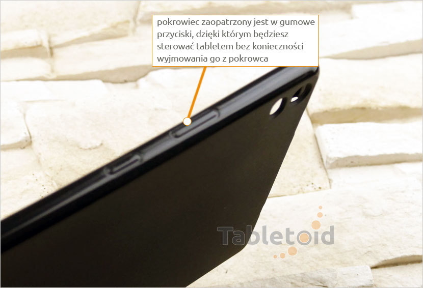 pokrowiec do tabletu Lenovo Tab 4 8 Plus TB-8704, N, F (8 cali)