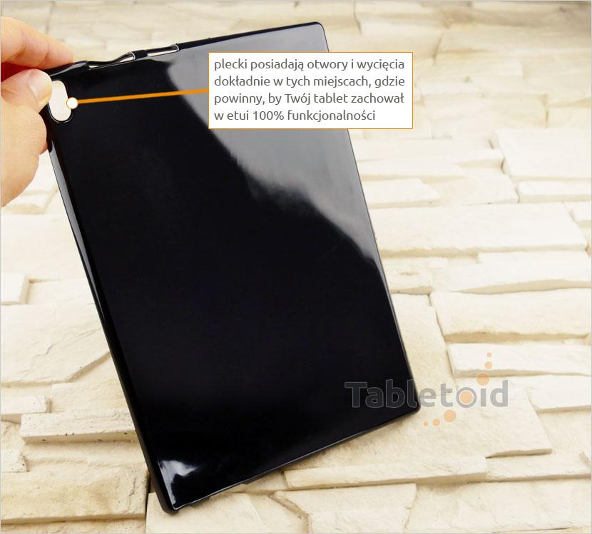 etui plastikowe na tablet tablet Lenovo Tab 4 10 Plus TB-X704, N, F (10 cali)
