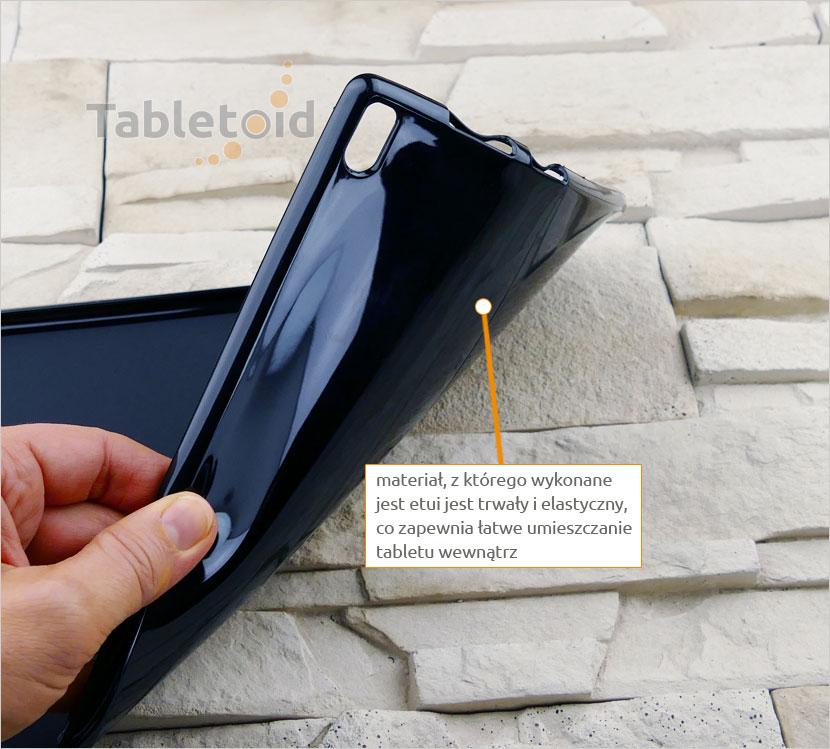 elastyczne plecki na tablet