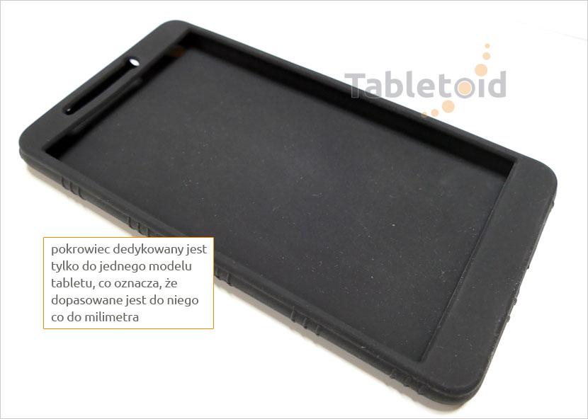 Elastyczne etui  do tabletu Lenovo Tab 3 7 Plus TB-7703, X (7 cali)