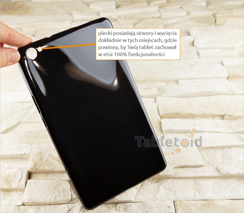 Elastyczne plecki do tabletu Huawei MediaPad M3 Lite 8.0 CPN-W09 CPN-AL00 (8 cali)