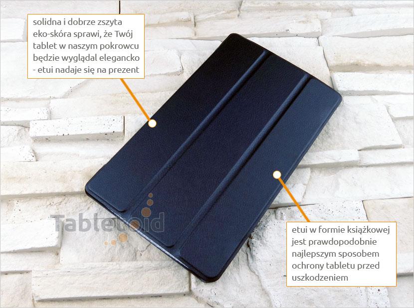 Etui na tablet Lenovo Tab 4 8 Plus TB-8704, N, F (8 cali)