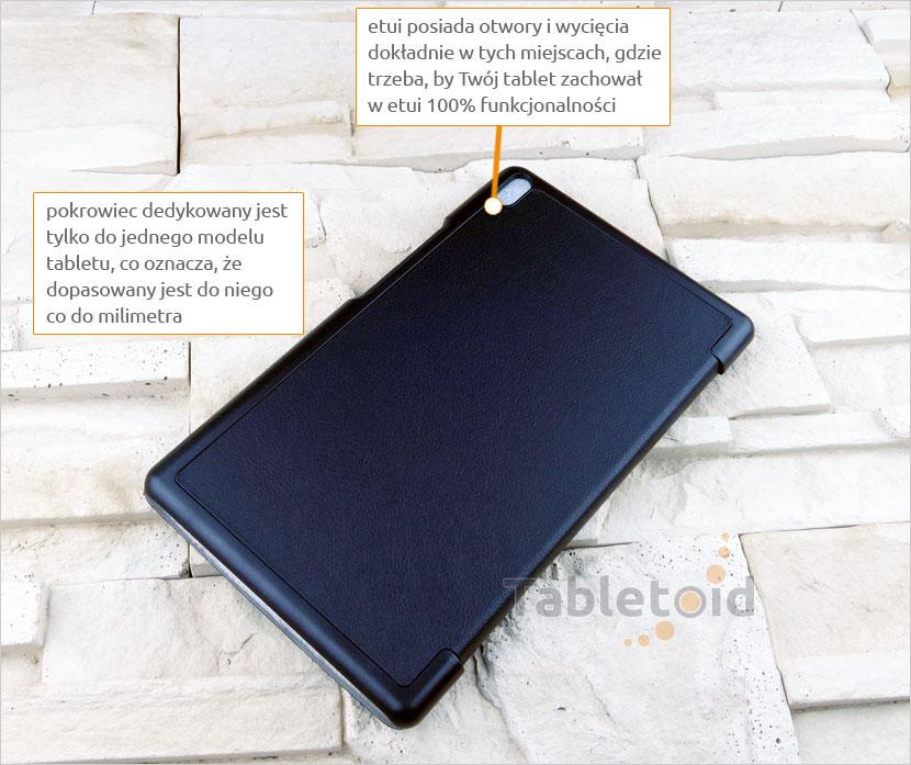 dedykowany pokrowiec na Lenovo Tab 4 8 Plus TB-8704, N, F (8 cali)