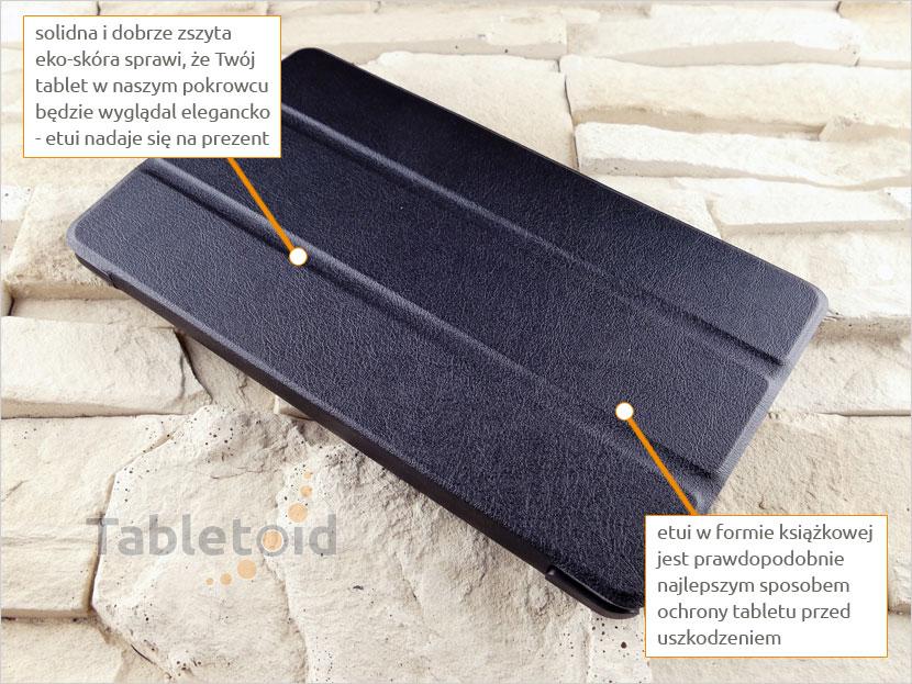 książkowy pokrowiec na tablet