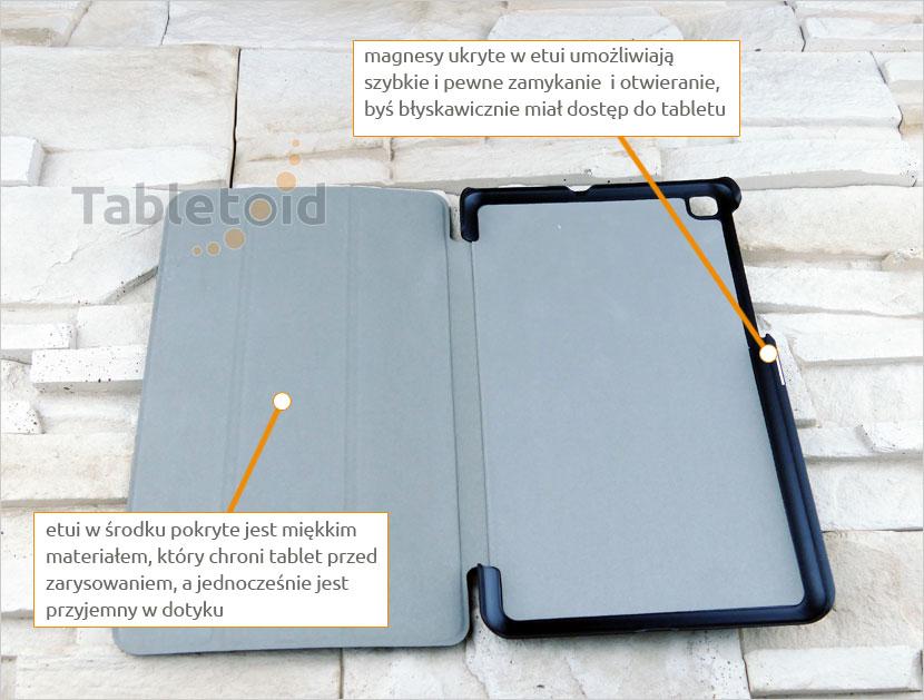 dopasowane etui na tablet LG G Pad 4 8.0 P530 (8 cali)