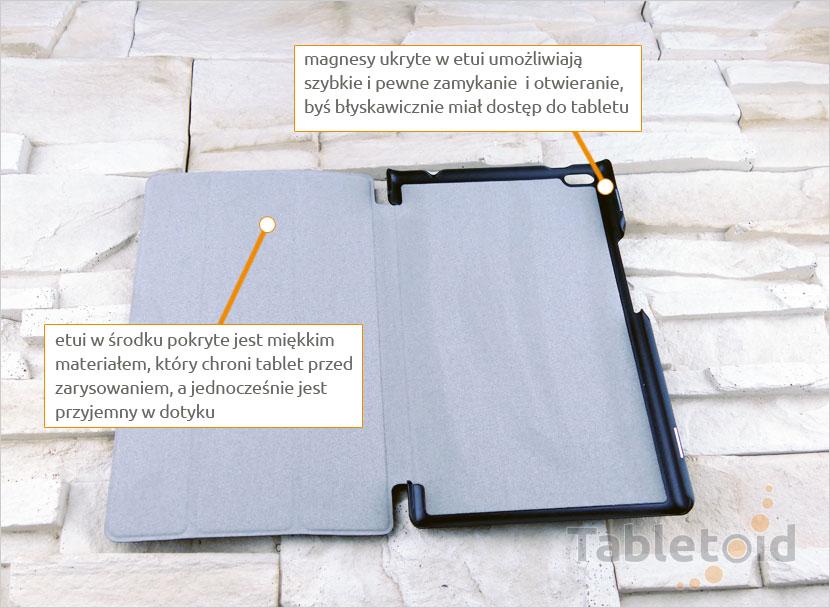 pokrowiec do tabletu Lenovo Tab 4 8 TB-8504, N, F (8 cali)