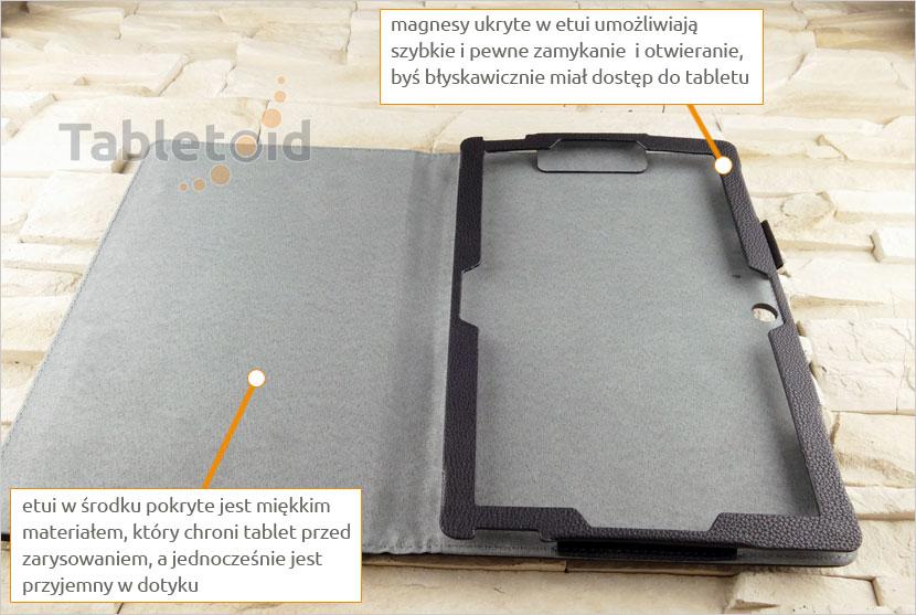 Etui zamykane na tablet Teclast X3 Plus (11.6 cala)