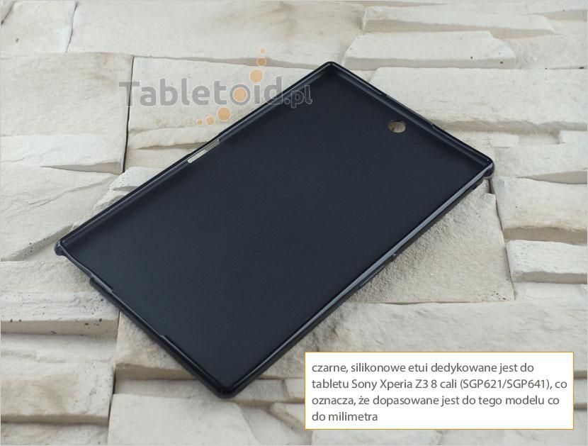 """silikonowego """"plecki"""" do Sony Xperia Z3 8 cali"""
