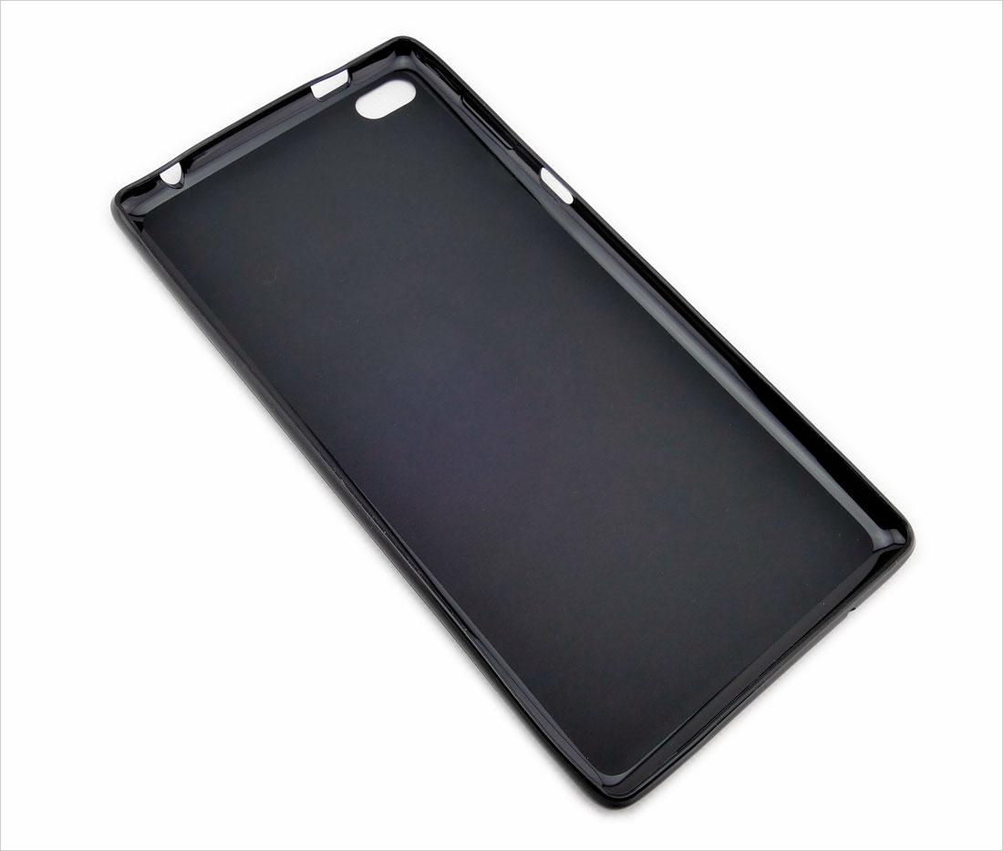 CZARNE silikonowe plecki do tabletu Lenovo Tab 4 7 cali TB-7504F, TB-7504X, TB-7504N