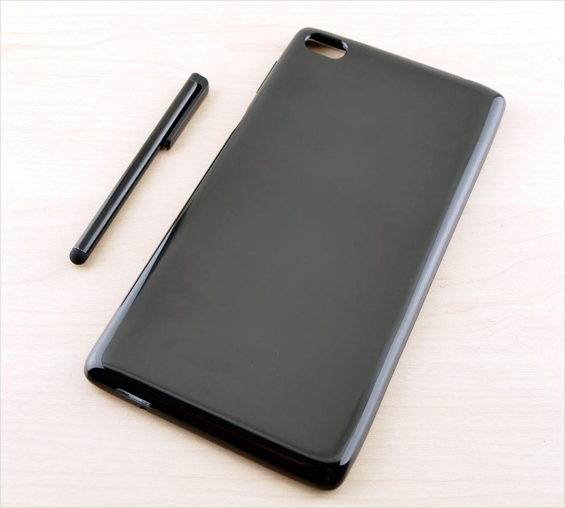 CZARNE silikonowe etui na tablet Lenovo Tab 4 7 cali TB-7504F