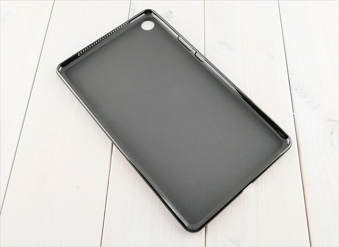 CZARNE silikonowe etui na tablet Huawei Mediapad M5 8,4 SHT-AL09 SHT-W09