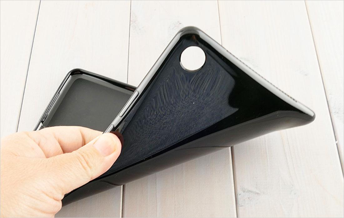 CZARNE silikonowe plecki do tabletu Huawei Mediapad M5 8,4 SHT-AL09 SHT-W09