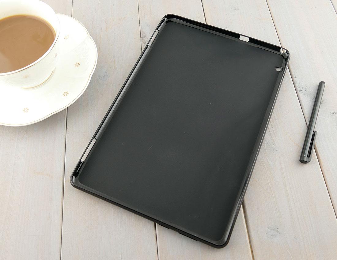 CZARNE silikonowe etui do tabletu Huawei MediaPad T5 10 AGS2-W09/L09/L03/W19
