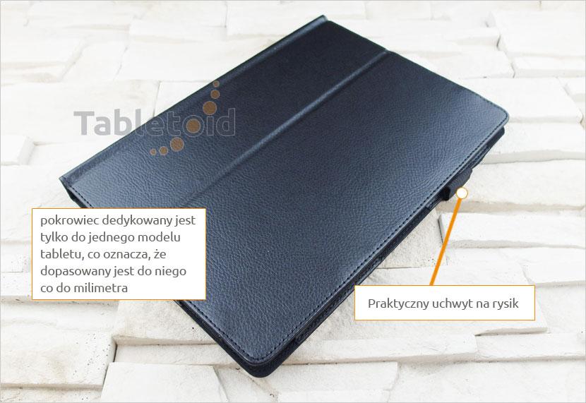 pokrowiec na tablet Lenovo Miix 310 10.1 cala z możliwością włożenia z klawiaturą