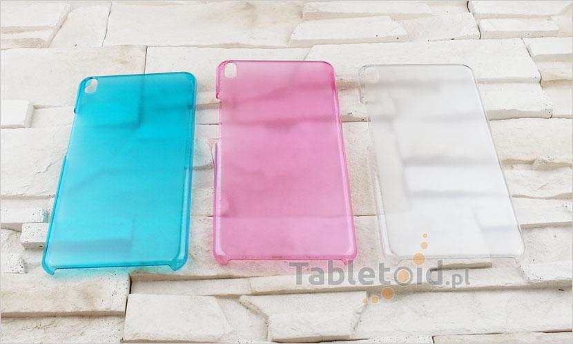 Kolorowe plecki na tablet
