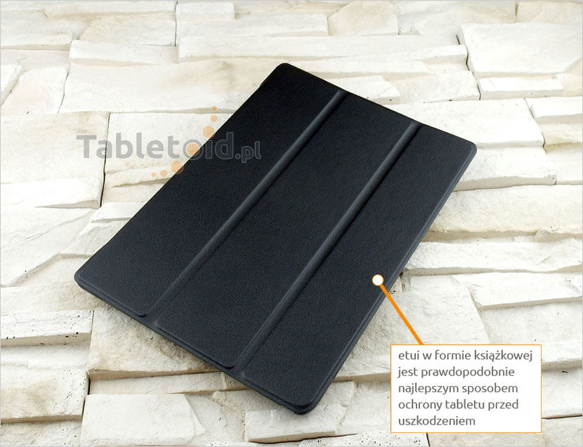 CZARNE etui do tabletu Lenovo Tab 2 A10-30 F