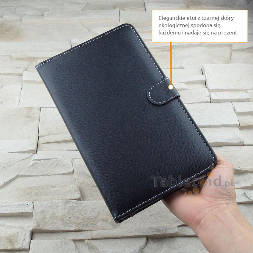 Etui z klawiaturą USB do tabletu 7-calowego | pokrowiec na tablet Kiano, GoClever, Tracer, Yarvik, Lark