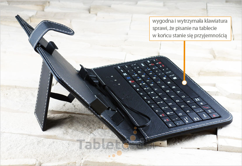 ETUI Z KLAWIATURĄ USB DO TABLETU 7-CALOWEGO