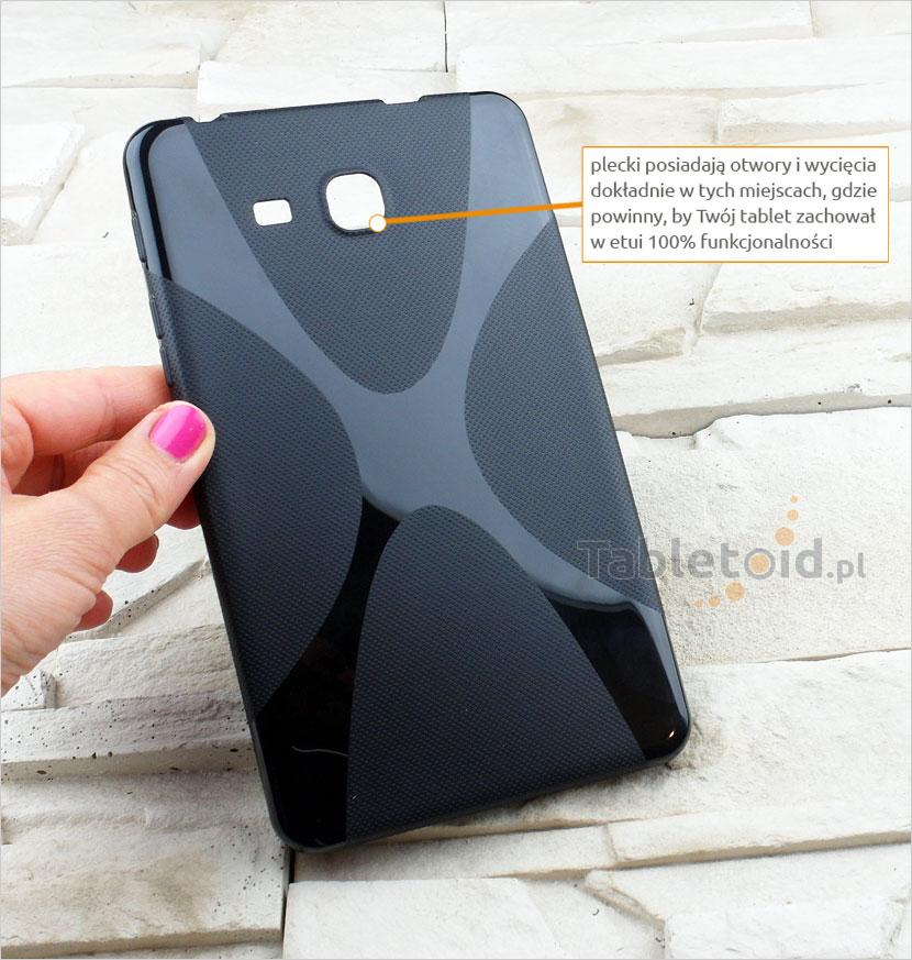 silikonowy futerał na tablet Samsung Galaxy Tab A 7.0  (T280/T285)