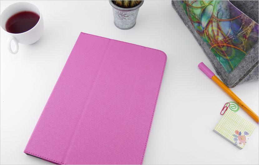 różowy pokrowiec książkowy do tabletu HP ElitePad 1000 G2
