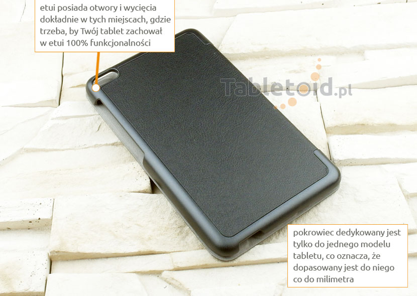 pokrowiec książkowy na tablet Huawei MediaPad M2 7.0