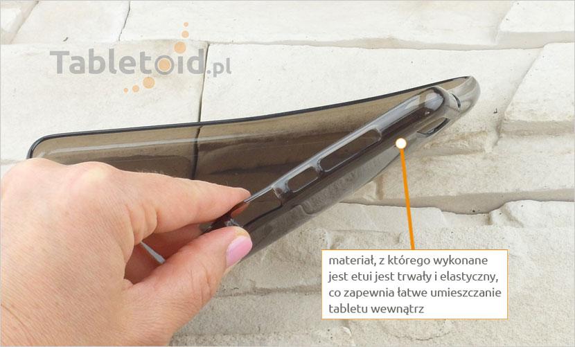 dedykowane gumowe plecki na tablet Huawei MediaPad M2 7.0