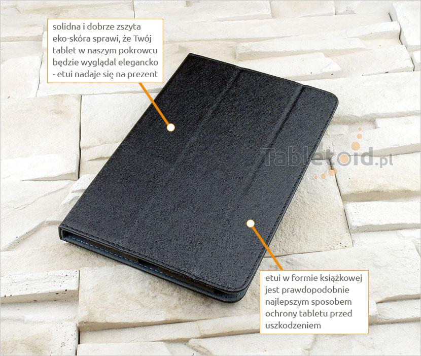 pokrowiec książkowy do tabletu HP Pro 608 G1 7,9cala