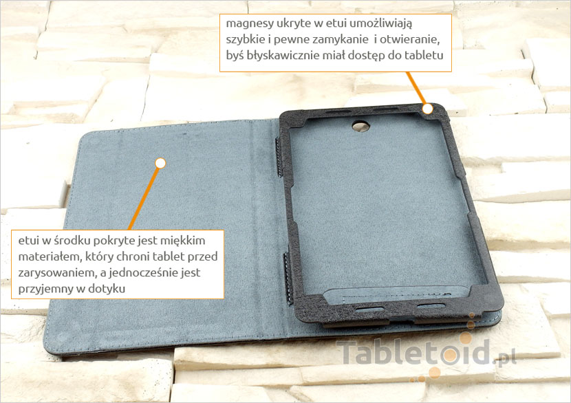ekskluzywny pokrowiec na tablet
