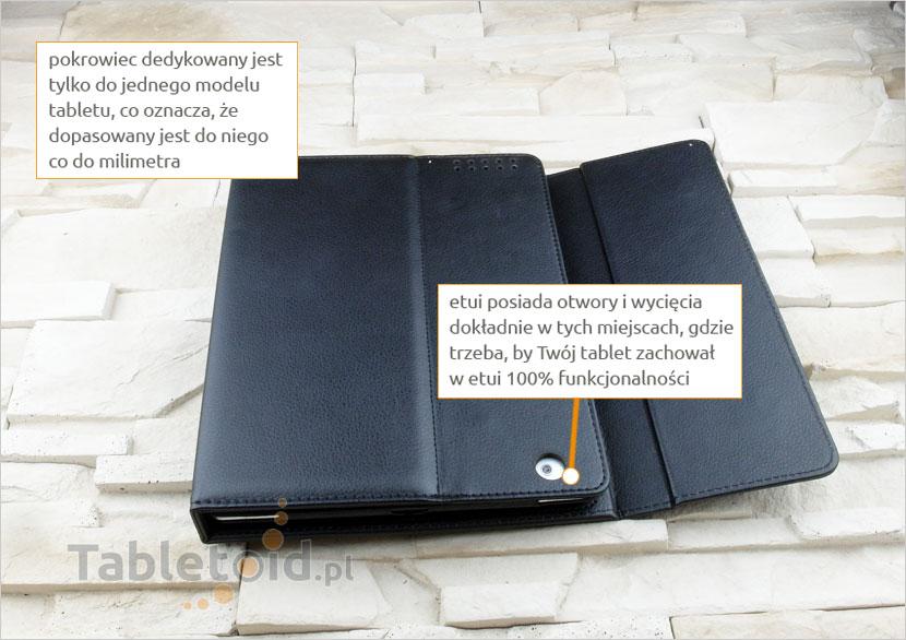 Pokrowiec z klawiaturą na bluetooth do tabletu Apple iPad 9.7 cala 2 / 3 / 4