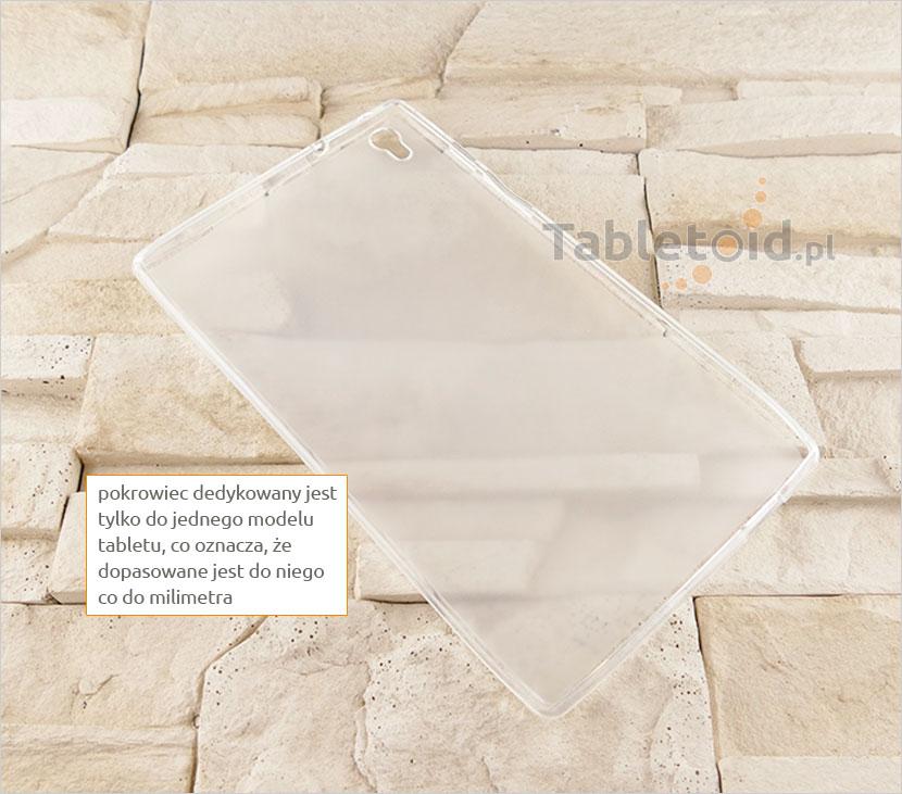 plecki silikonowe na tablet Lenovo Tab S8-50F/L