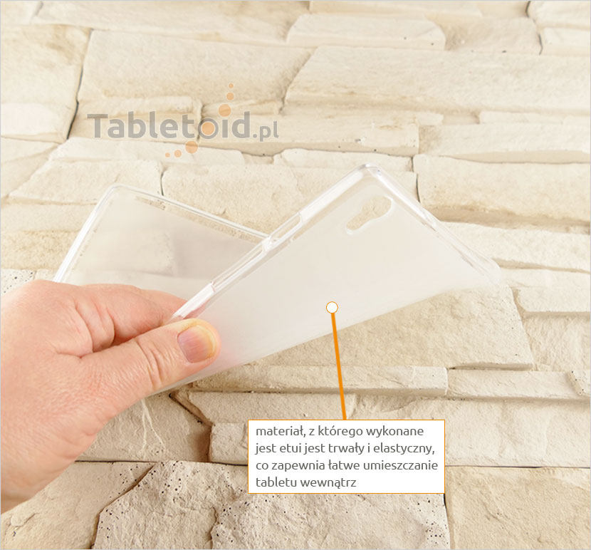 pokrowiec gumowy na tablet Lenovo Tab S8-50